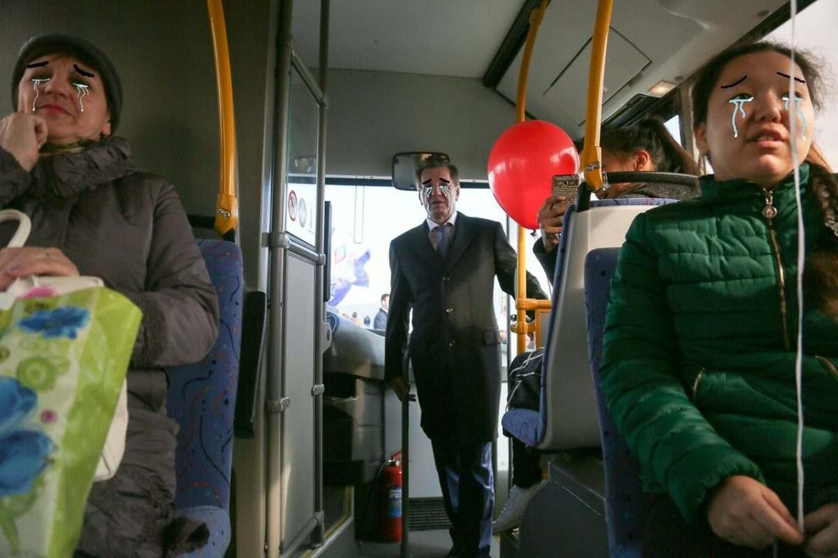 Автобусов в микрорайоне Бабаевского стало еще меньше