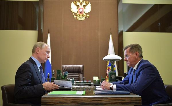 Александр Жилкин справился с вопросами из «зеленой папки» Путина