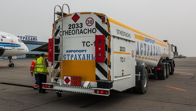 Авиакеросин в Астрахани стал одним из самых дешевых в ЮФО