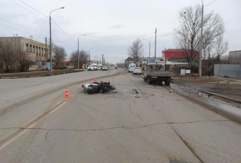 Астраханский скутерист скончался в больнице