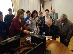 В Астрахани прошла презентация новой книги Олега Шеина