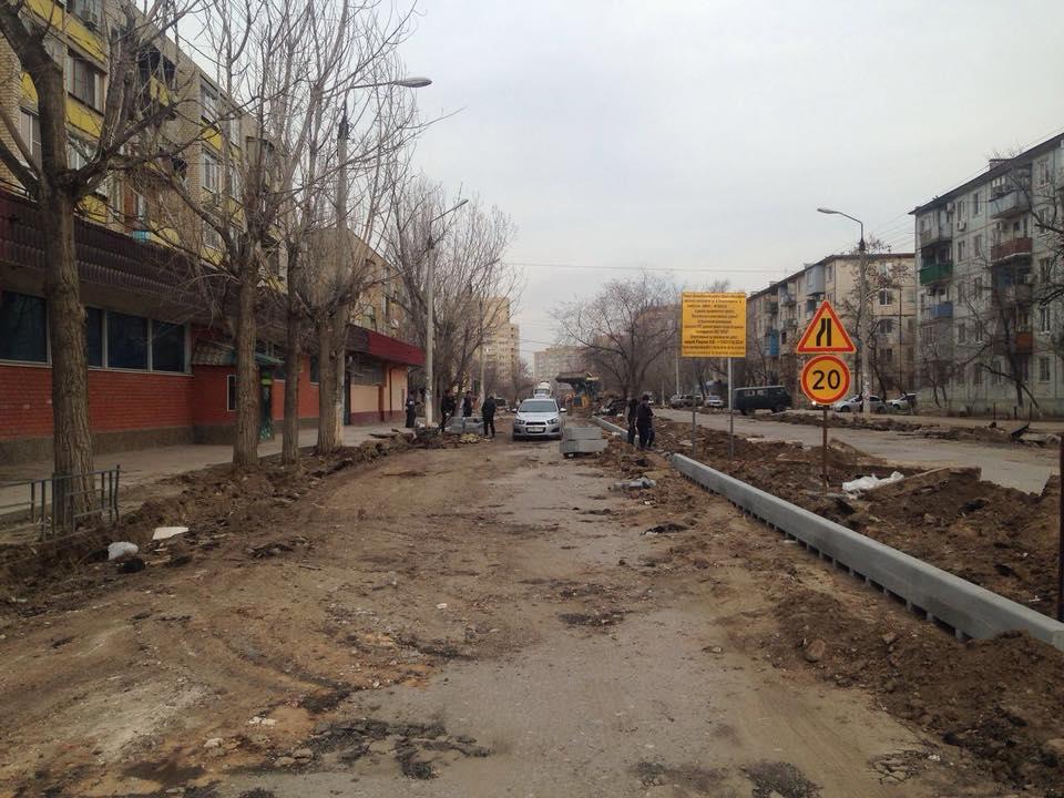 На нескольких астраханских улицах начинается долгожданный ремонт