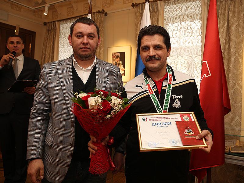 Астраханец стал серебряным призером чемпионата по шахматам среди работников железнодорожного транспорта России