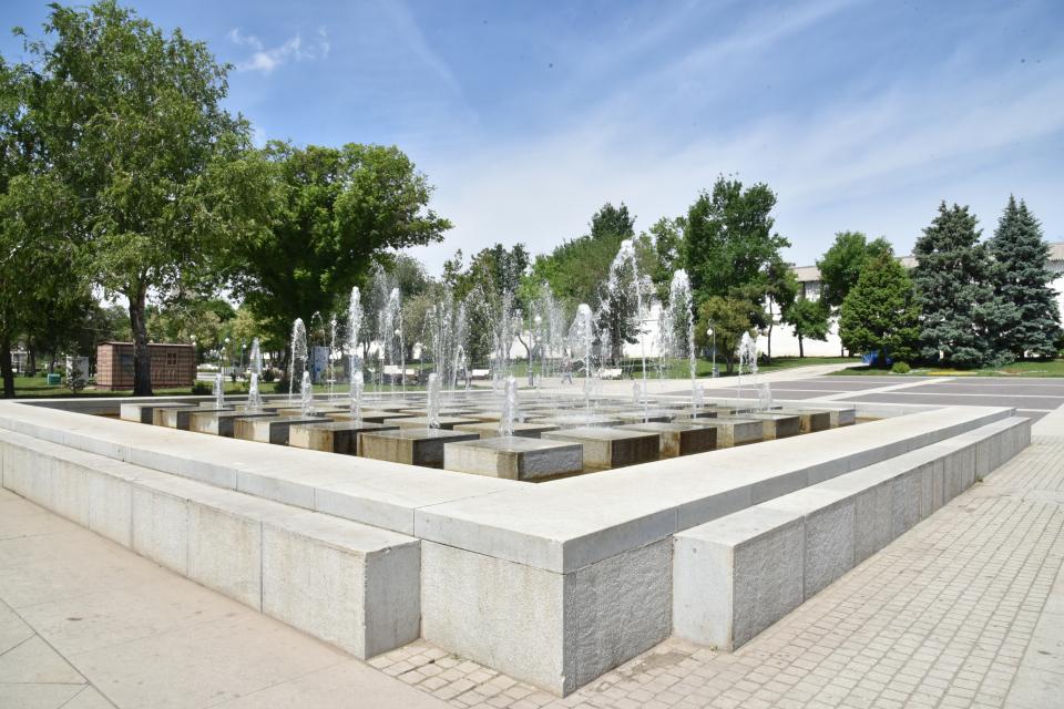 Астраханские фонтаны начнут работать в пятницу