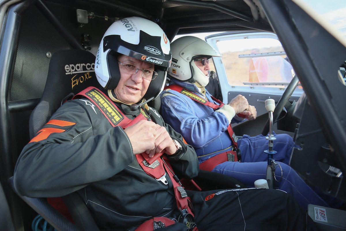 Александр Жилкин на одну гонку может войти в состав экипажа «КАМАЗ-мастер»