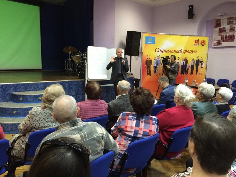 Астраханские общественные движения объединились под флагом Справедливой России