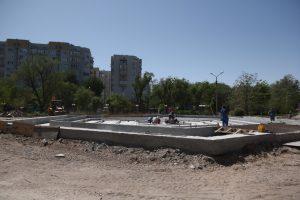 Фонтан для болельщиков в Астрахани достроят уже после Чемпионата мира