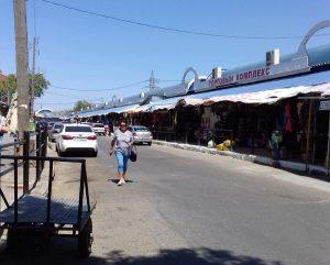 С рынка Большие Исады выгнали более 600 незаконных торговцев
