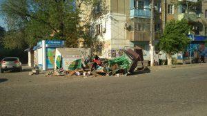 Нашли астраханца, который снес прилавки в Трусовском районе