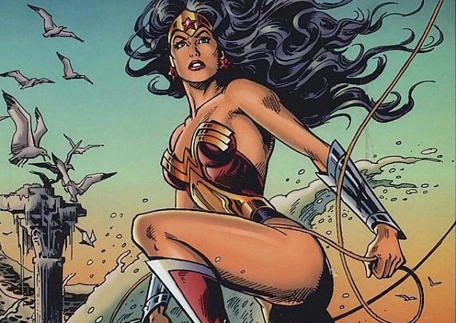 супер-женщина, супергерой