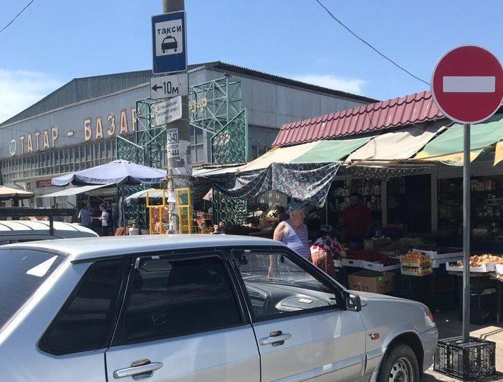 В районе Татар-Базара появилось одностороннее движение
