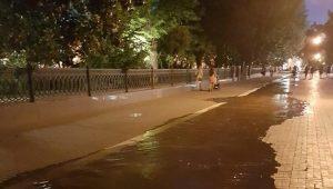 Потоп возле Братского сада успешно ликвидирован