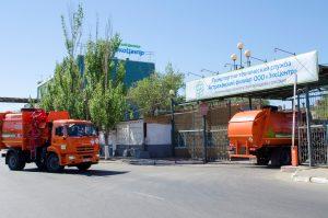 В Астрахань прибыла очередная партия новой коммунальной техники