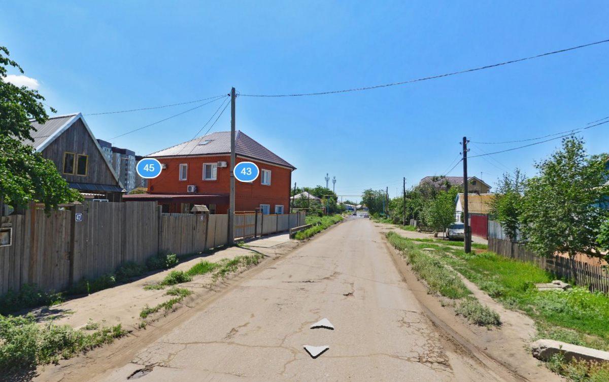 До района Астрахань-2 дошло уличное освещение