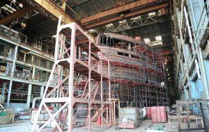 Астраханские судостроители могут достроить многострадальный лайнер раньше срока