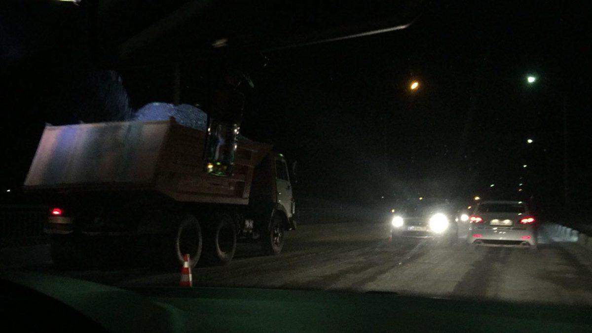 В Астрахани начали ремонтировать Мясокомбинатский мост