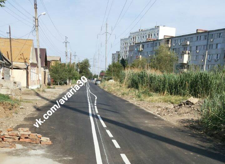 Астраханцев удивила кривая разметка на свежем асфальте