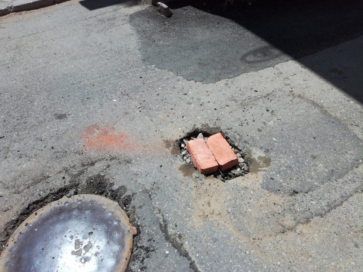 «Вечную яму» на улице Кирова отремонтировали с помощью нанотехнологий
