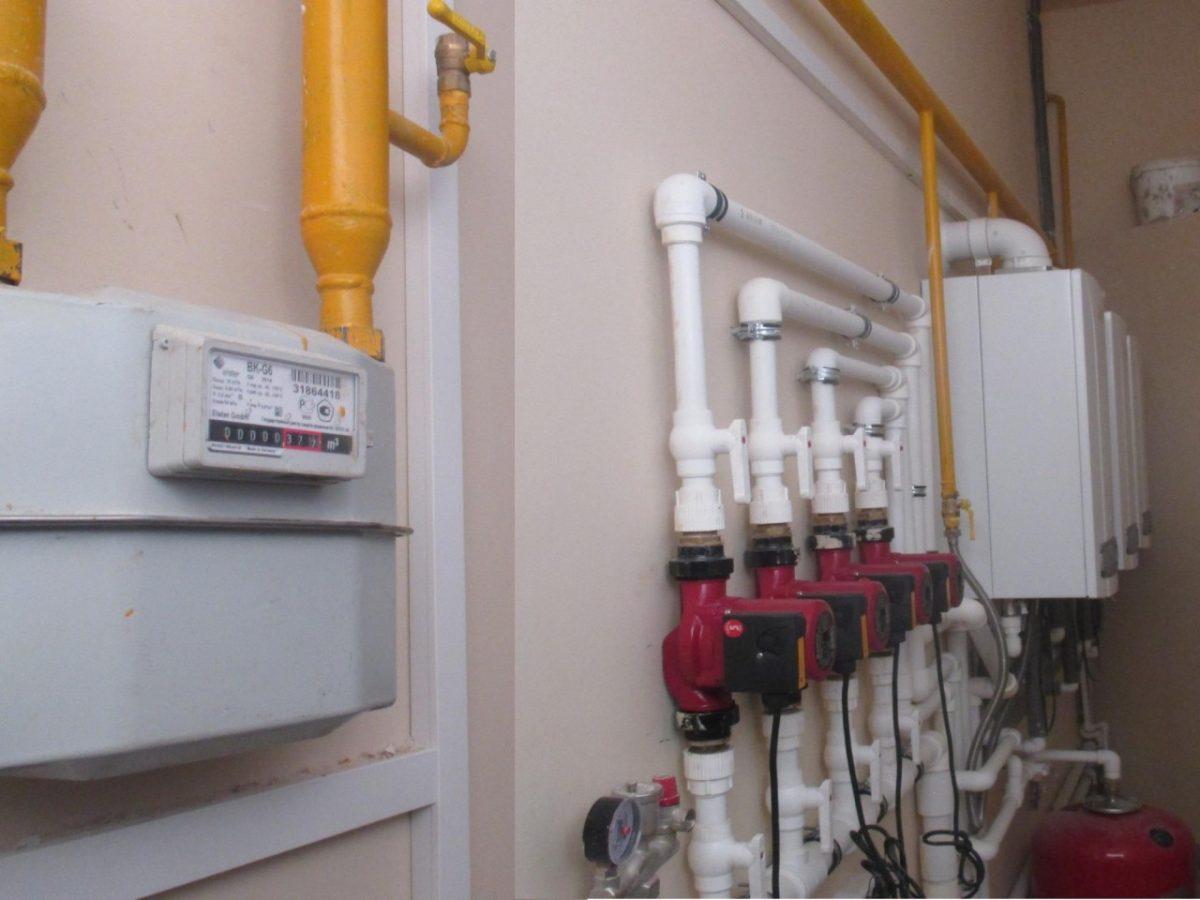 Офисные помещения в центре Астрахани незаконно отапливались газом