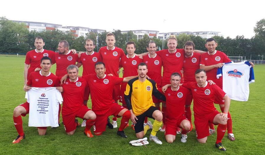 Астраханские врачи стали серебряными призерами Чемпионата мира по футболу