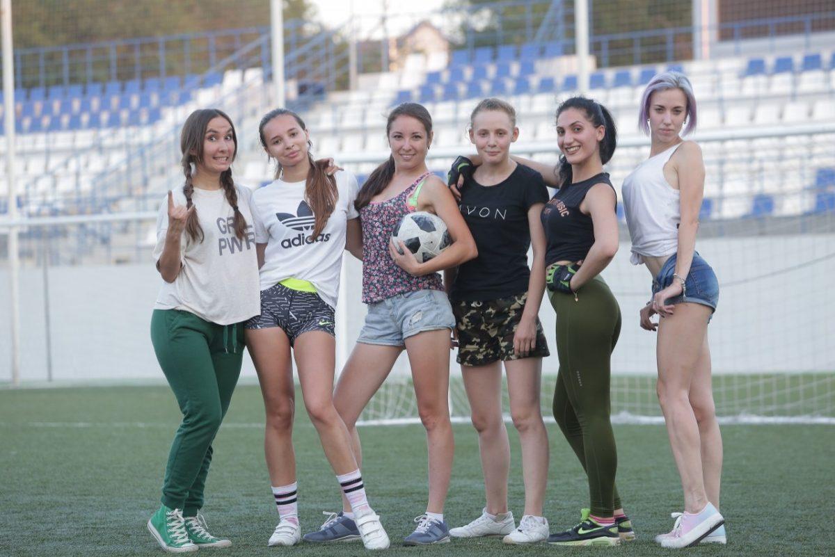 Астраханские журналистки сегодня зарубятся в футбол