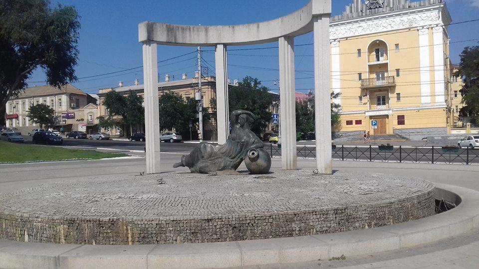 День ВДВ снова совпал в Астрахани с отключением фонтанов