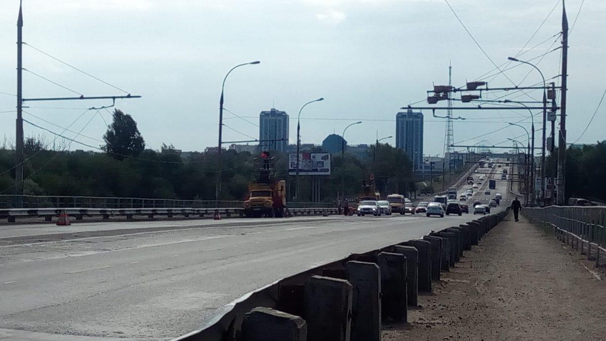 В Астрахани продолжают разбирать троллейбусную сеть