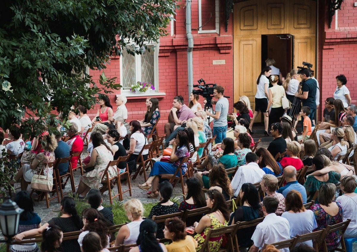 Астраханцы вновь соберутся в «Музейном дворике»