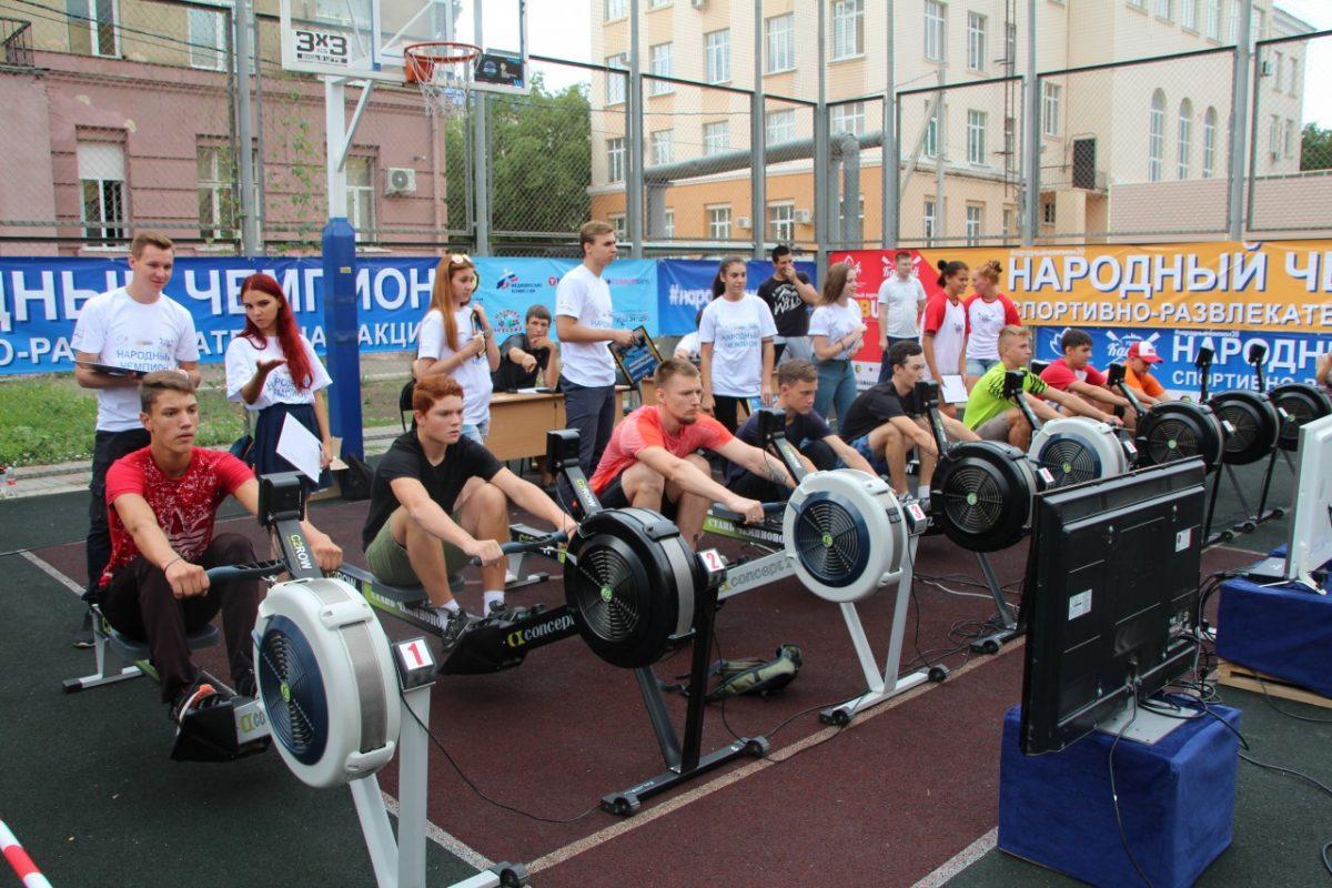 Во втором этапе акции «Народный чемпион» установили новый рекорд