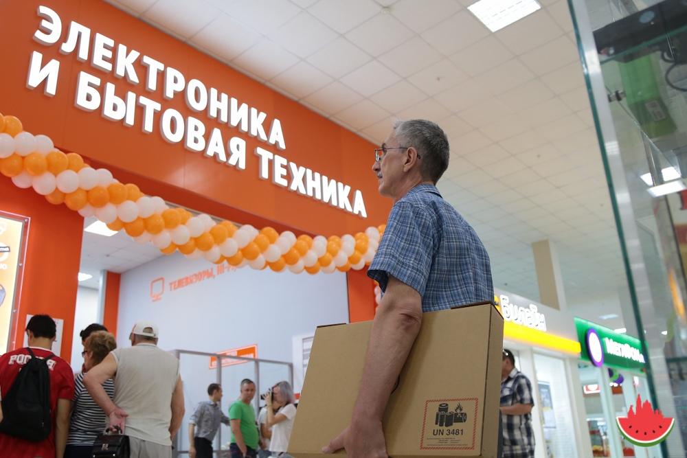 В Астрахани открылся электронный дискаунтер «Ситилинк»