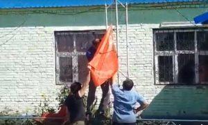 В Астраханской области задержали людей за флаг СССР