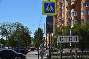 На обновленной улице Богдана Хмельницкого нанесли разметку термопластиком