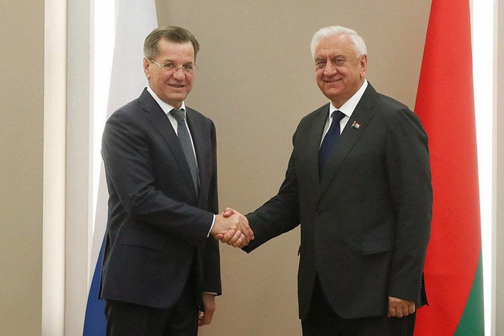 Александр Жилкин предложил Белоруссии создавать конкурентоспособные на мировом рынке проекты