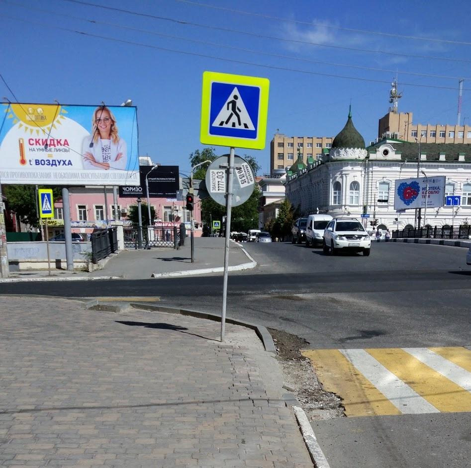 И так сойдет: молодые урбанисты критикуют новые бордюры в Астрахани