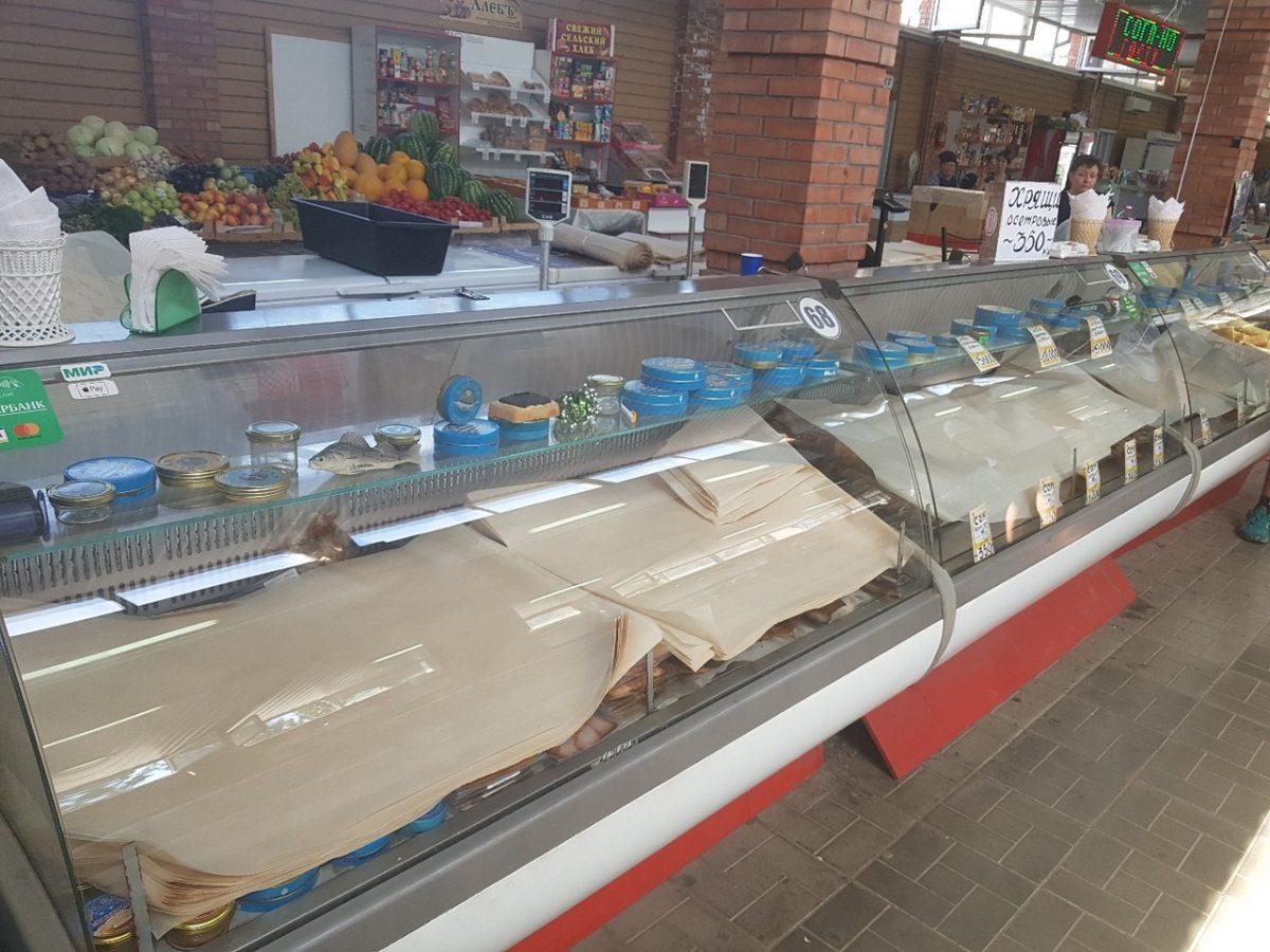 Продавцы на Селенских Исадах в панике сбежали и бросили товар