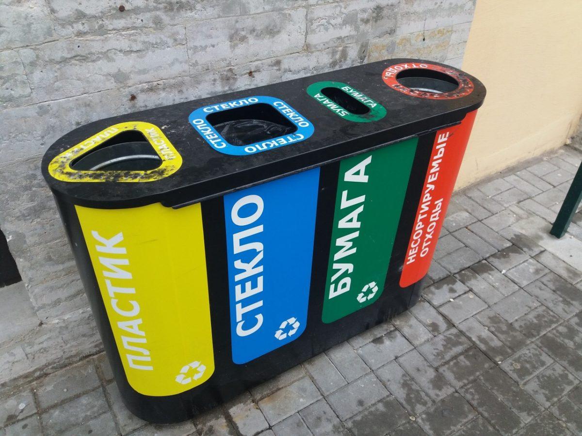 Сбербанк и «Экоцентр» предоставили возможность жильцам ЖК «Лазурный» избавиться от пластика правильно