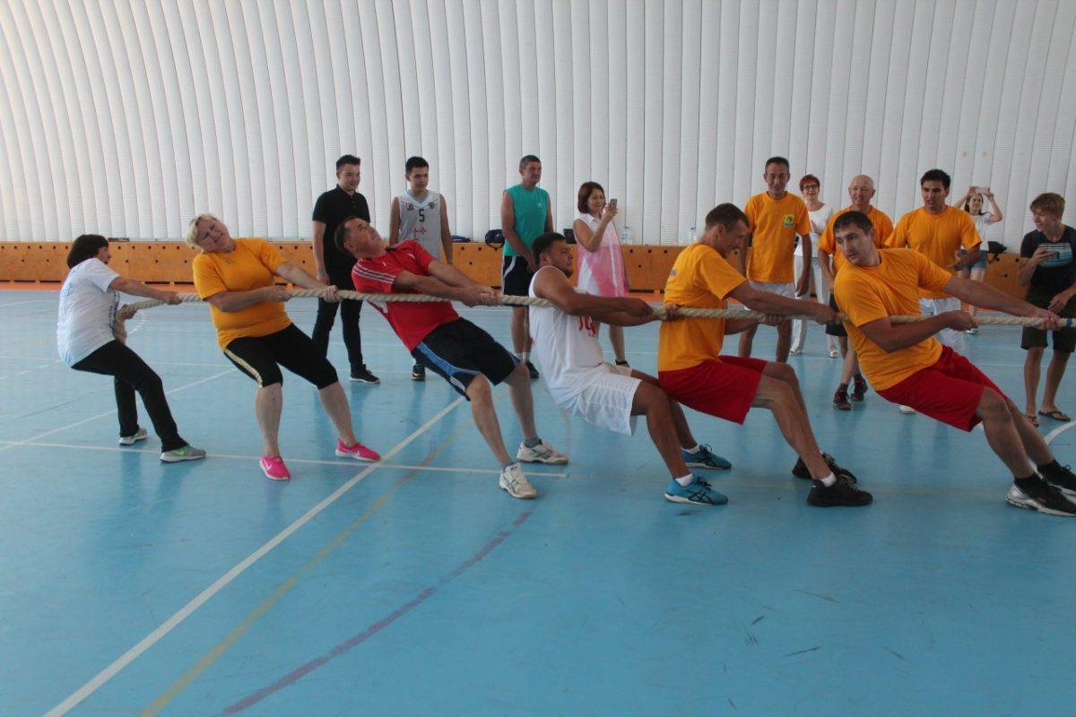 В Приволжском районе отметили День физкультурника