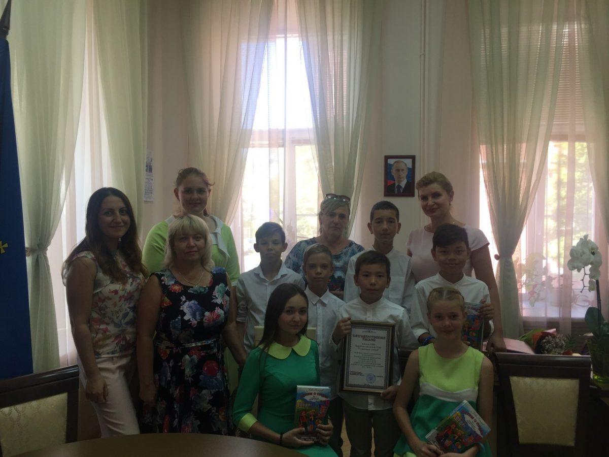 Юные КВНщики из Приволжского района встретились с уполномоченной по правам ребенка
