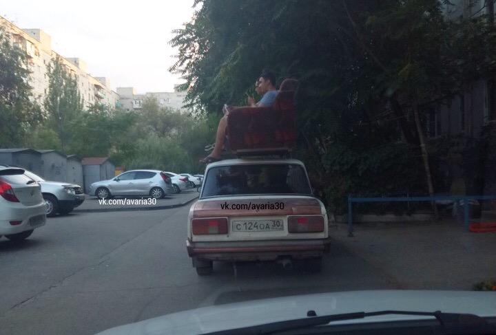 Астраханцы придумали новый вид маршрутки с естественным кондиционером