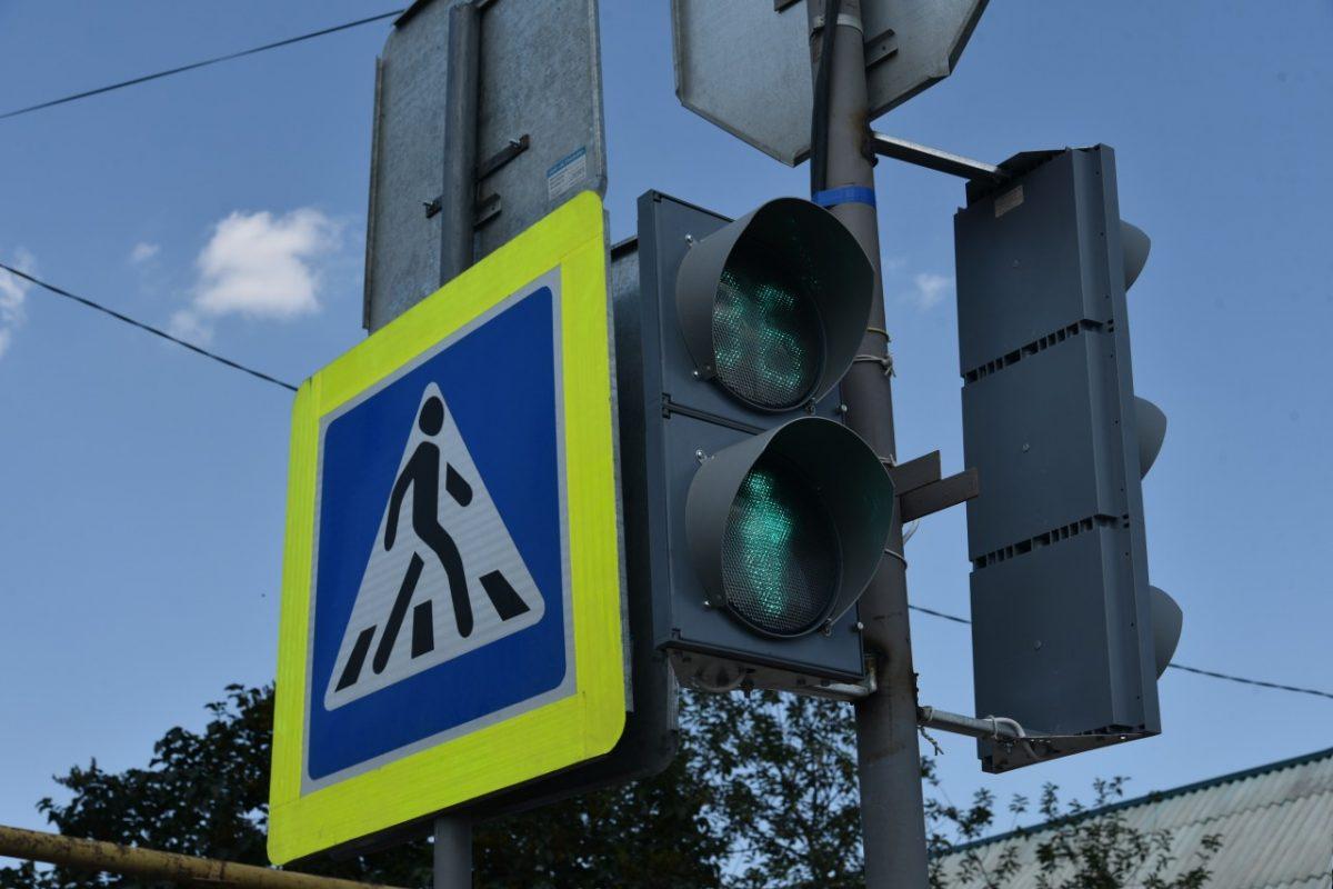 На выезде из Казачьего установили новый светофор