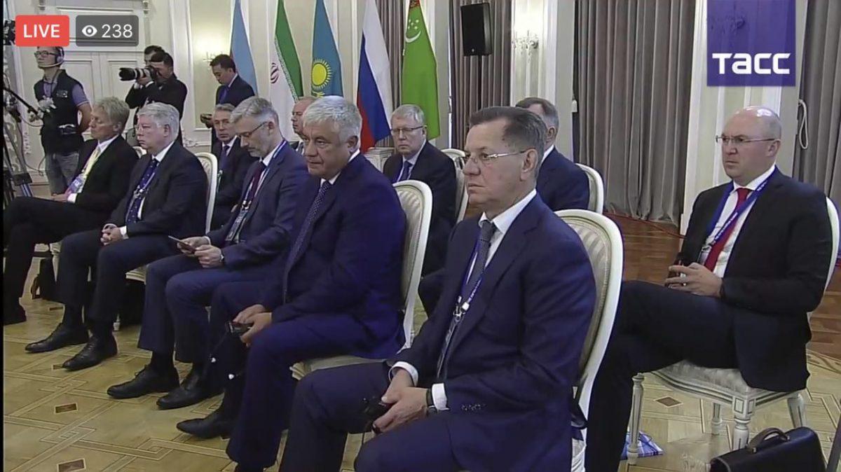 Александр Жилкин прокомментировал подписание Конвенции о статусе Каспия
