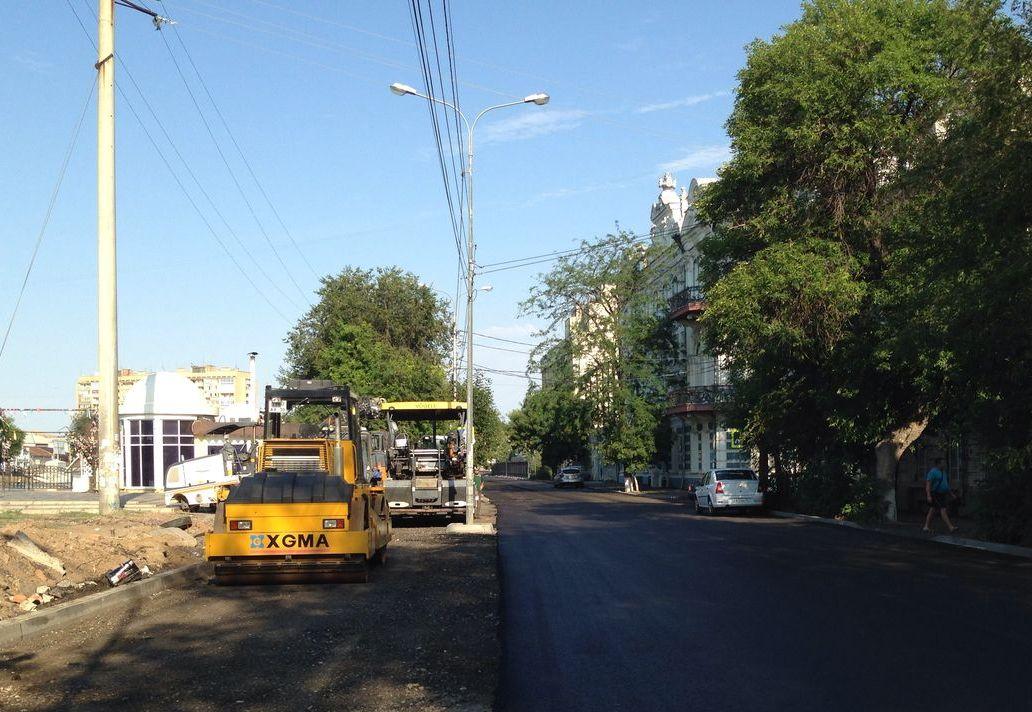 Капитальный ремонт Красной набережной завершат к концу недели