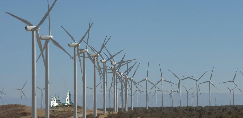 Астраханские степи застроят гигантскими ветроэлектростанциями