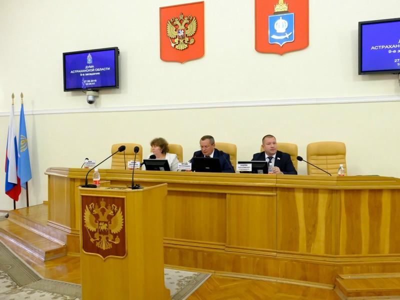 Игорь Мартынов провел заседание Думы