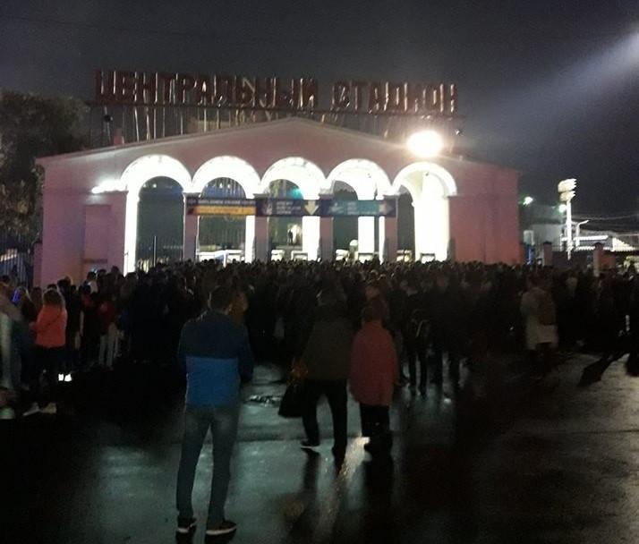В Астрахани провалили организацию матча «Волгарь» — «Зенит»