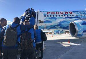 «Зенит» прилетел в Астрахань в полном составе