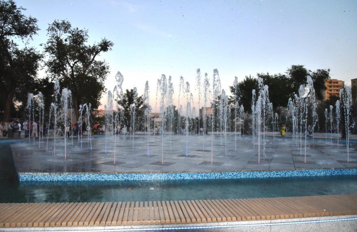 В Астрахани заработает еще один фонтан