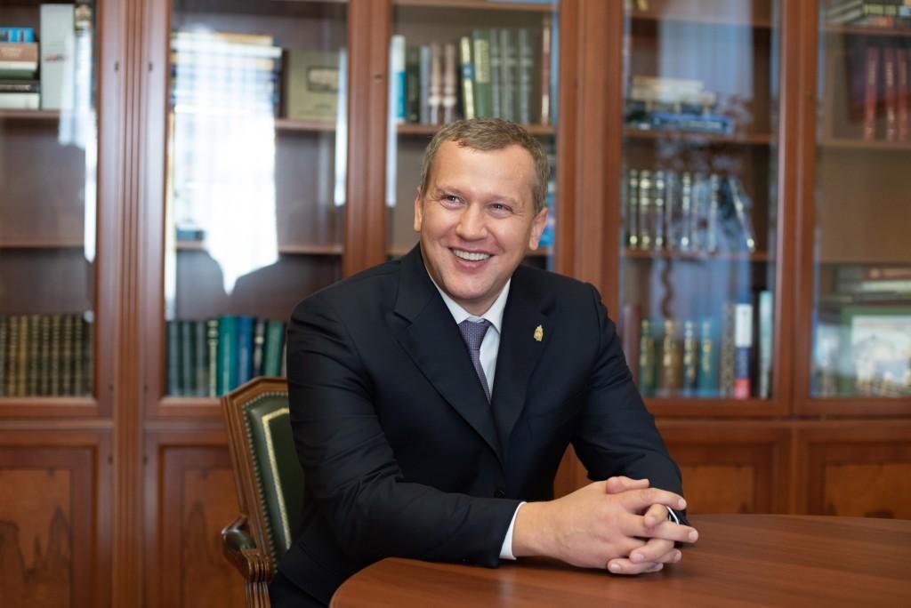 Сергей Морозов показал свою семью
