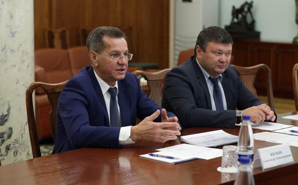 Александр Жилкин рассказал министру сельского хозяйства РФ об успехах
