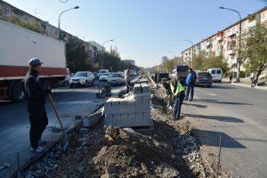Виктор Корженко потребовал максимально ускорить ремонт улицы Яблочкова